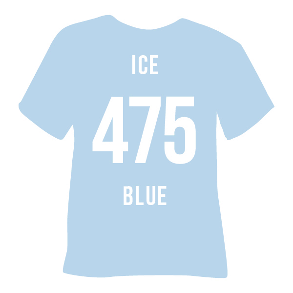 Ice Blue Heat Transfer Vinyl
