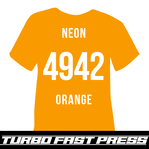 Neon Orange Turbo Heat Transfer Vinyl