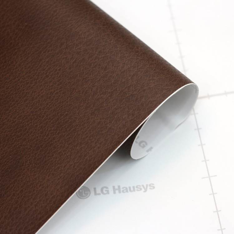 Dark Brown Leather Effect Craft Vinyl