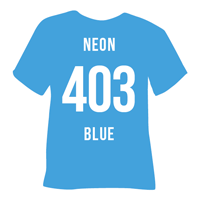 Neon Blue Heat Transfer Vinyl