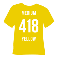 Medium Yellow Heat Transfer Vinyl