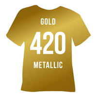 Gold Metallic Heat Transfer Vinyl