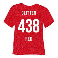 Red Glitter Heat Transfer Vinyl