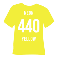 Neon Yellow Heat Transfer Vinyl