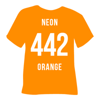 Neon Orange Heat Transfer Vinyl