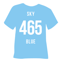 Sky Blue Heat Transfer Vinyl