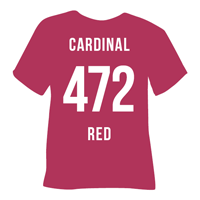 Cardinal Red Heat Transfer Vinyl