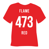 Flame Red Heat Transfer Vinyl