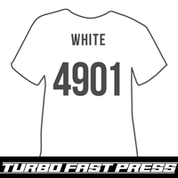 White Turbo Heat Transfer Vinyl