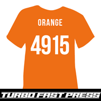 Orange Turbo Heat Transfer Vinyl