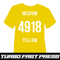 Medium Yellow Turbo Heat Transfer Vinyl
