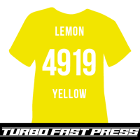 Lemon Yellow Turbo Heat Transfer Vinyl