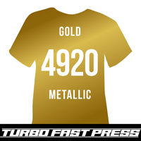 Gold Turbo Heat Transfer Vinyl