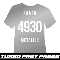 Silver Turbo Heat Transfer Vinyl