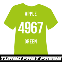 Apple Green Turbo Heat Transfer Vinyl