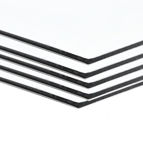 A4 Sheets 5 pack - White Aluminium Composite Sheet