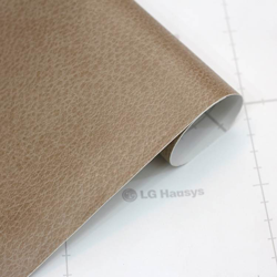 Light Brown Leather Effect Craft Vinyl