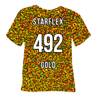 Gold Starflex Heat Transfer Vinyl