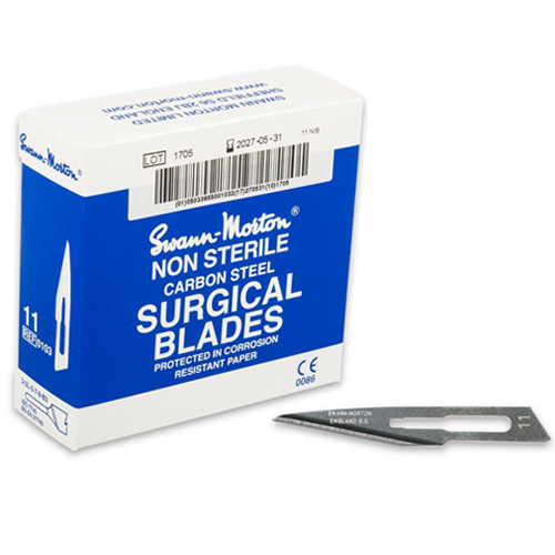 Swann Morton No:11 Scalpel Blades
